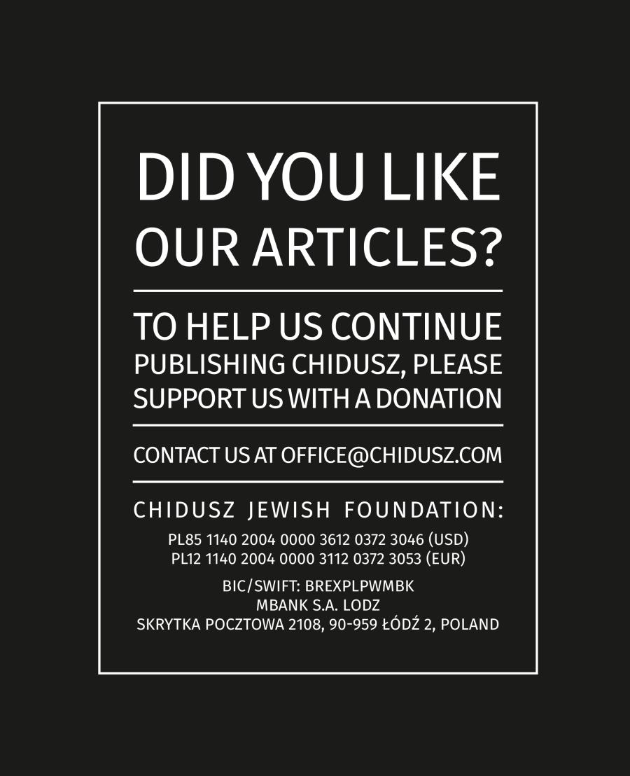 jewish-magazine-chidusz-jewish-foundation-poland-polish-jewish-relationship-polish-jewish-community-in-poland