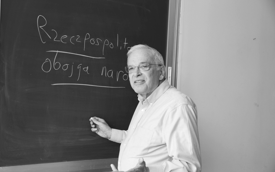 Prof. Moshe Rosman /fot. Smadar Bergman, Israel Institute of Advanced Studies