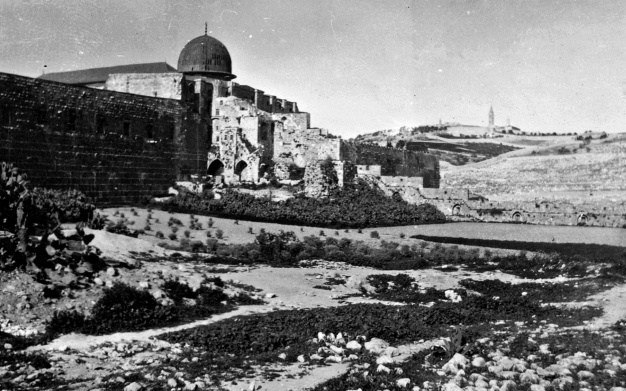 Jerozolima, rok 1941 / fot. Dvr Tom Beazley