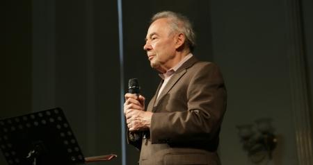 Marek Web w Synagodze pod Białym Bocianem /fot. Chidusz