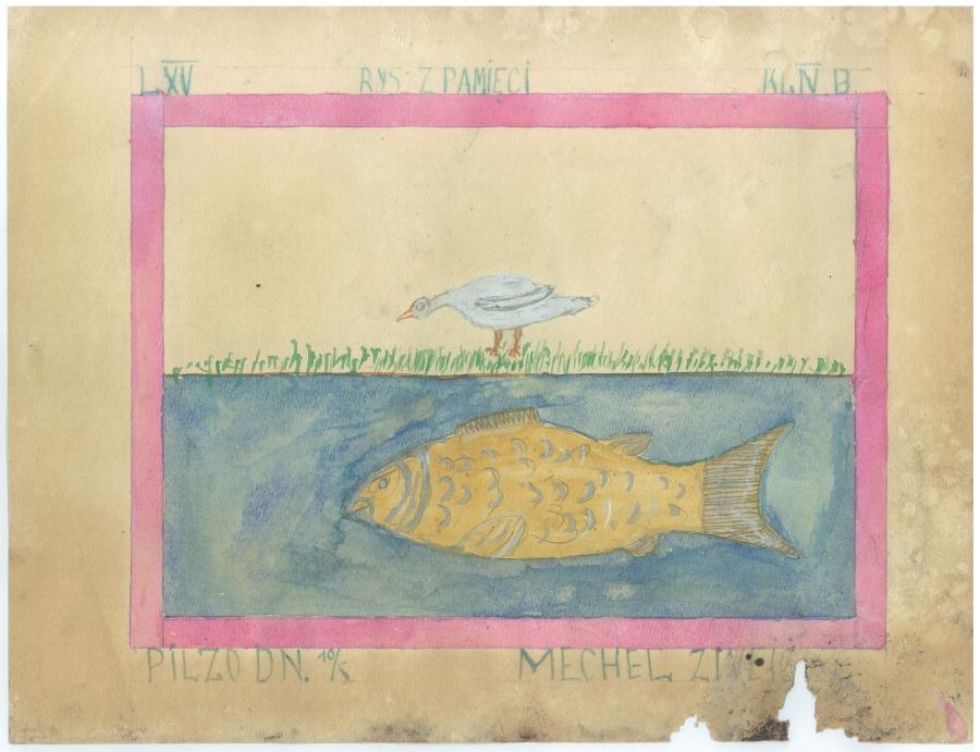 Mechel Zweig z Pilzna (rok szkolny 1938/1939)