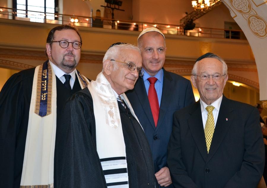 Rabin Walter Homolka, rabin Walter Jacob, Prezydent Kolegium im. Abrahama Geigera, Prezydent Rafał Dutkiewicz