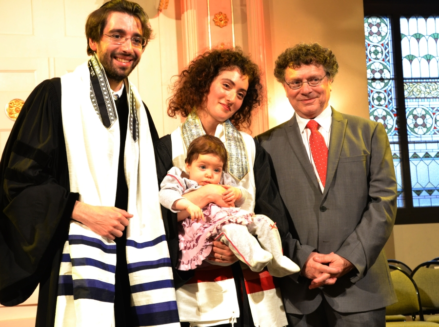 Sofia Felkovitch, kantor i rabin Jonas Jacquelin