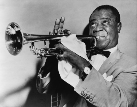 Louis Armstrong /fot. Wikipedia