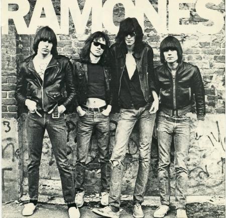 Okładka debiutanckiej płyty zespołu Ramones (1976)