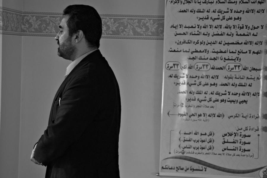 Imam Abi Ali Issa we wrocławskim meczecie /Chidusz 2014