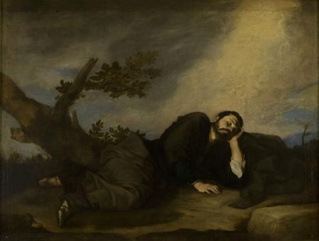 """Sen Jakuba"" autorstwa Jusepe de Ribera (Wikipedia)"