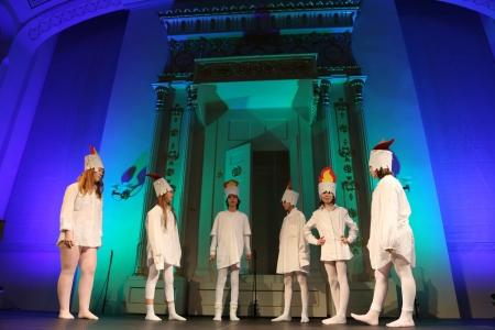 Przedstawienie chanukowe w Synagodze pod Białym Bocianem