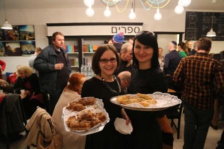 Uroczyste otwarcie CIŻ Cafe we Wrocławiu - pierwszej koszernej kawiarni na Dolnym Śląsku