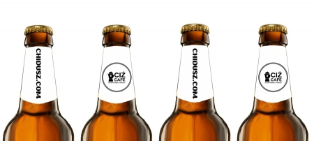 Koszerne piwo Chidusz i CIŻ Cafe /Stanisław Zaykowski