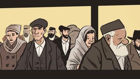"""James Sturm """"Dzień targowy"""" (Wydawnictwo Komiksowe 2015)"""