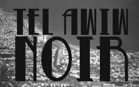 Okładka polskiej wersji antologii Tel Awiw Noir