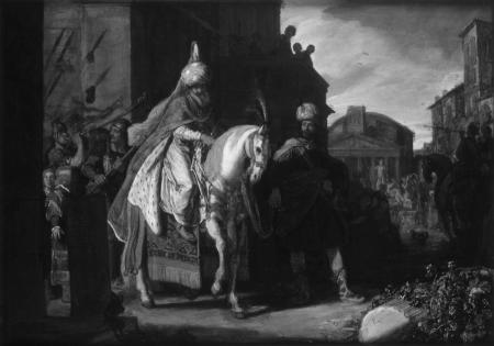 Pieter Pietersz: Triumf Mordechaja /Wikipedia