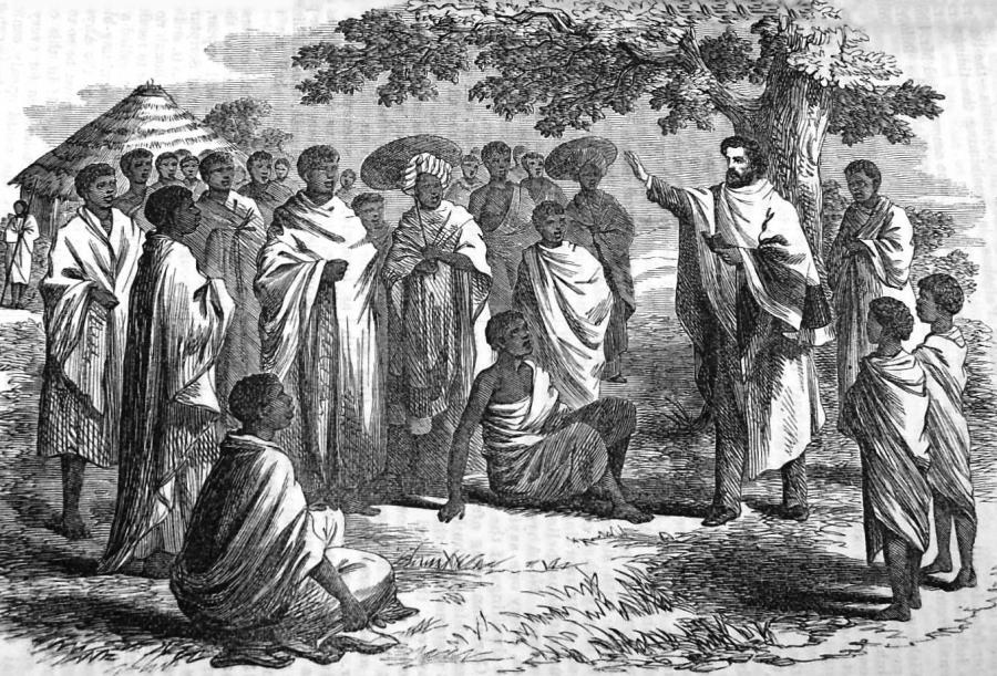 """Henry Aaron Stern, misjonarz-konwertyta wśród etiopskich Żydów (""""Jewish Records"""", 1862 nr 1, s. 1; The Bodleian Library, Dep. CMJ, e. 24 – dzięki uprzejmości Chruch's Ministry among Jewish People)"""