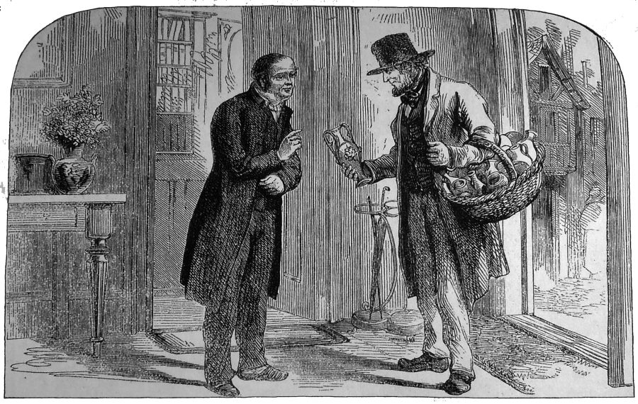 """Spotkanie misjonarza z Żydem zawsze stanowiło okazję do ewangelizacji (""""Jewish Records"""", 1867 nr 1, s. 1; The Bodleian Library, Dep. CMJ e. 24 – dzięki uprzejmości Chruch's Ministry among Jewish People)."""