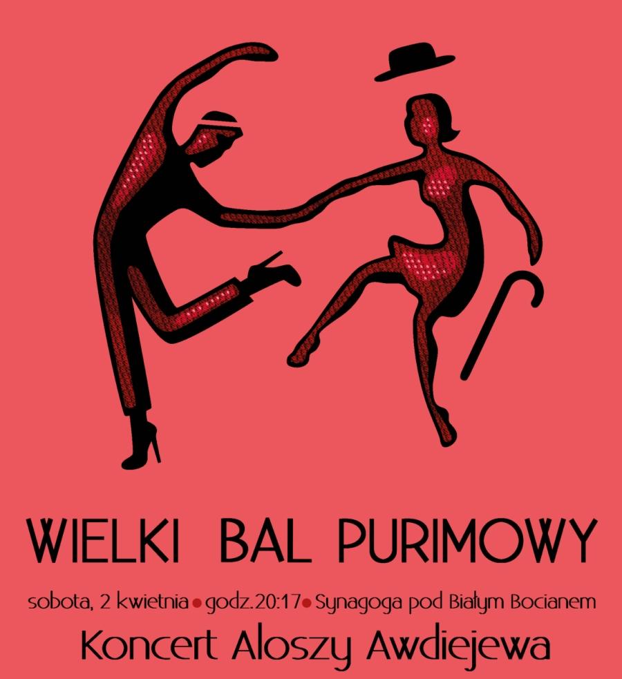 Wielki Bal Purimowy 2016 w synagodze Pod Białym Bocianem