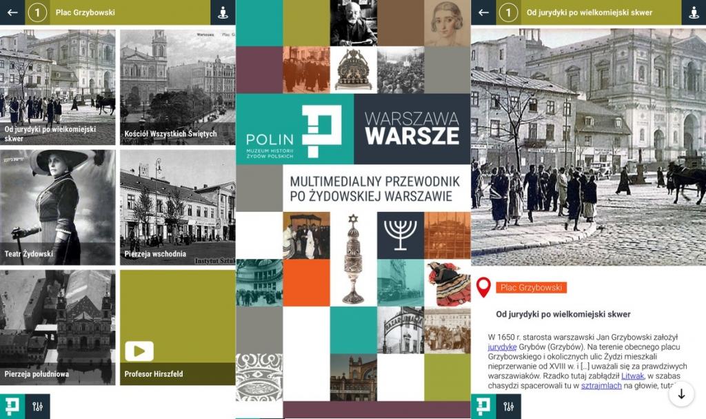 """Nowa aplikacja mobilna MHŻP POLIN """"Warszawa Warsze"""""""