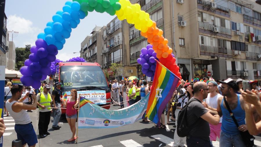 Parada Gay Pride w Tel Awiwie w 2014 roku /fot. Wikipedia