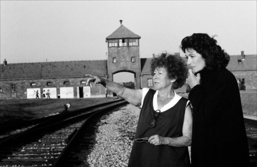 Marceline Loridan-Ivens i Anouk Aimee w Birkenau