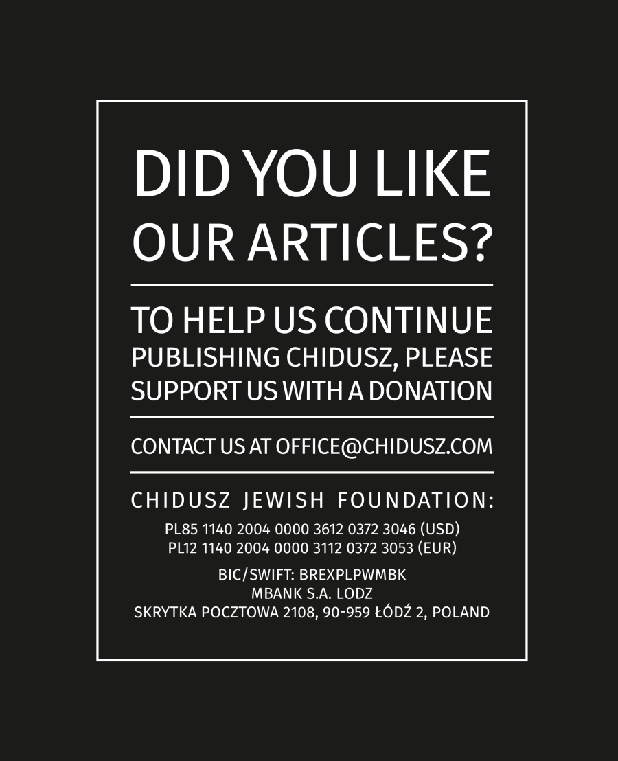 jewish-magazine-chidusz-jewish-foundation-poland-polish-jewish-relationship-polish-jewish-community-in-poland