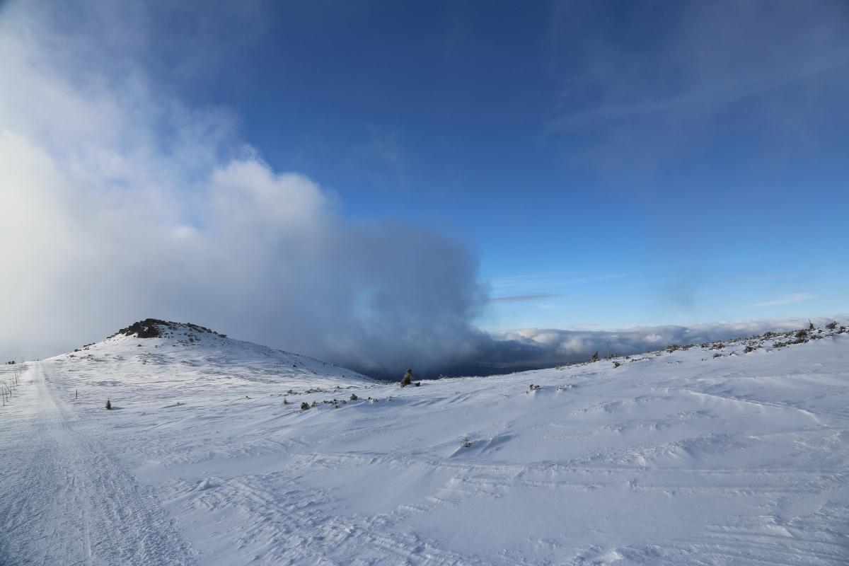 Karkonosze. Widok ze Śnieżnych Kotłów w stronę Szrenicy /fot. CHIDUSZ 2017
