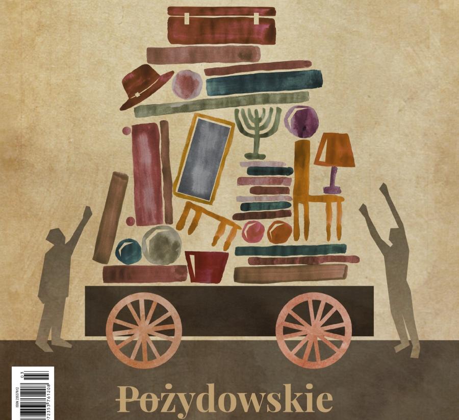"""""""Chidusz"""" 3/2017 - okładka. Rys. Edyta Marciniak"""