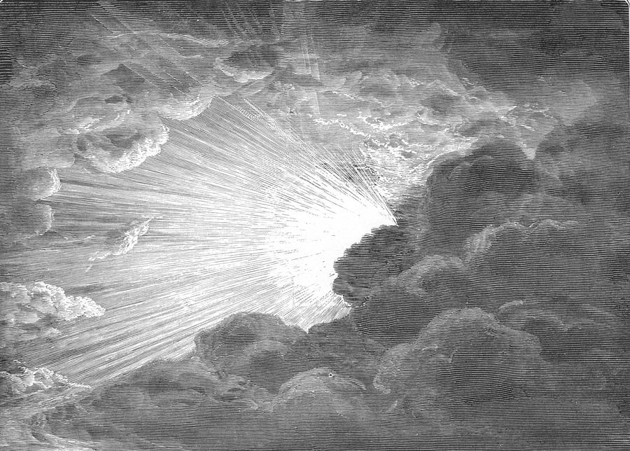 Stworzenie światła. Fot. Wikipedia