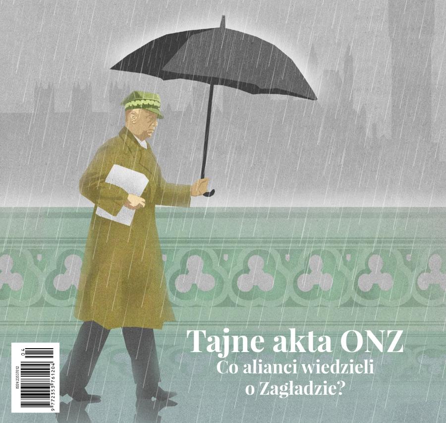 """Fragment okładki czwartego numeru """"Chiduszu"""" autorstwa Edyty Marciniak"""
