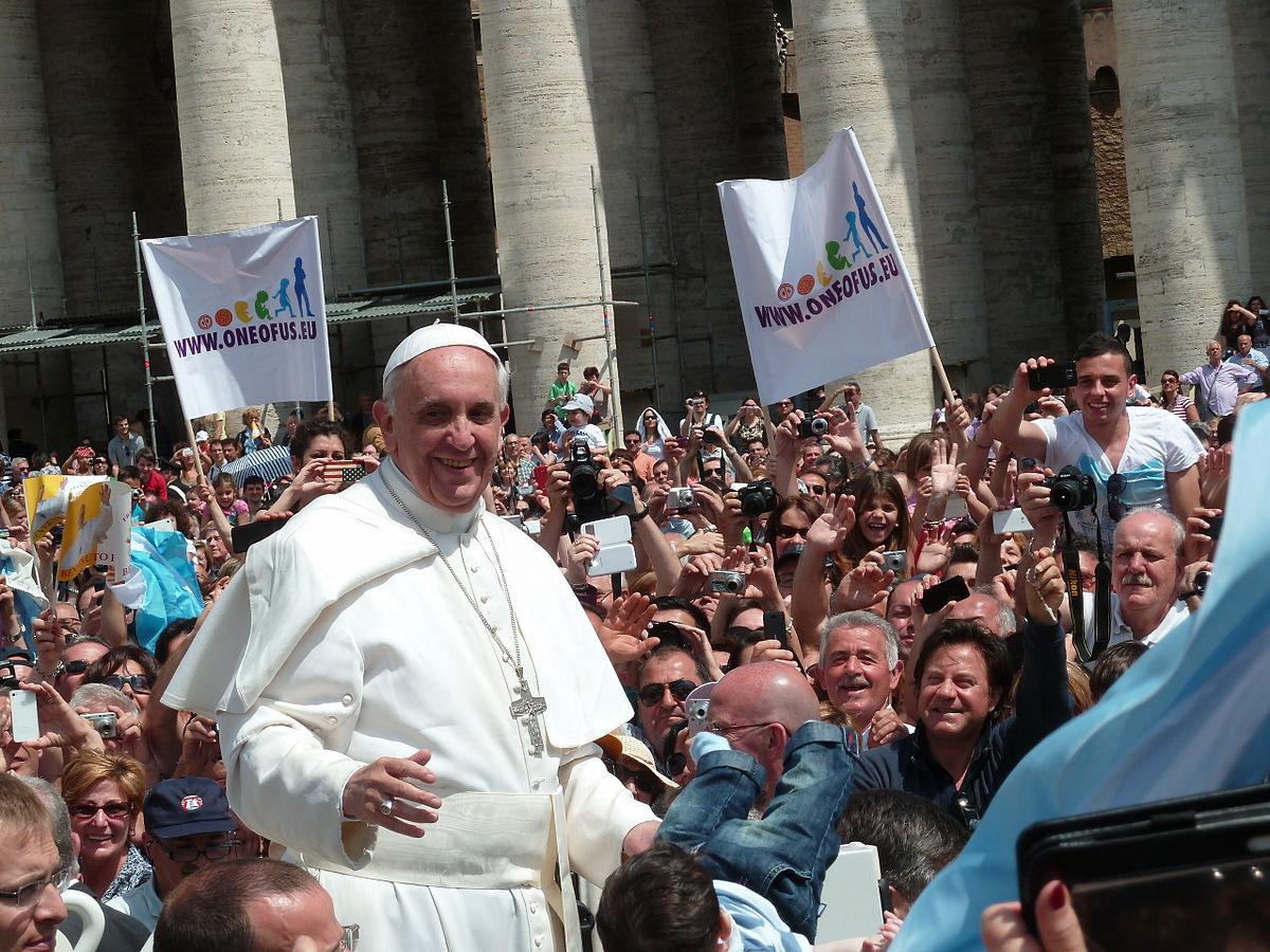 Papież Franciszek. Fot. Wikipedia
