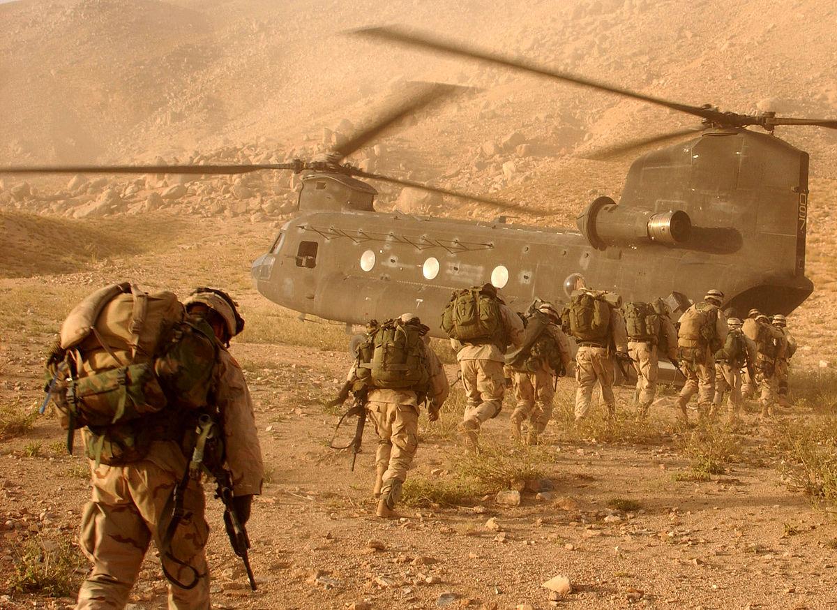 Amerykańscy żołnierze w Afganistanie Fot. Wikipedia