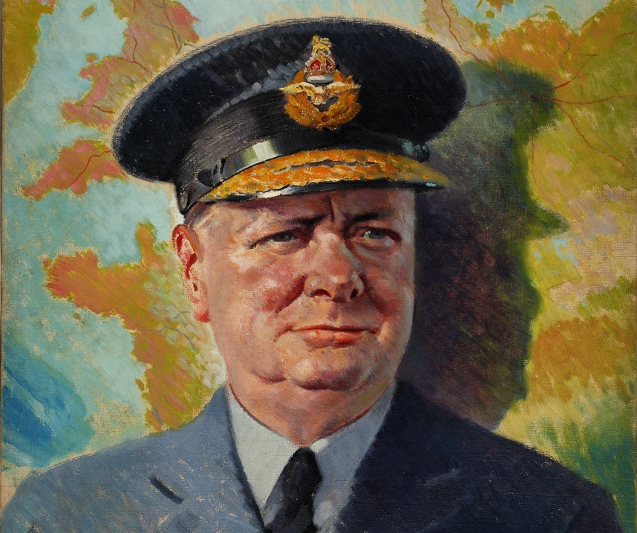 Winston Churchill. Fot. Wikipedia