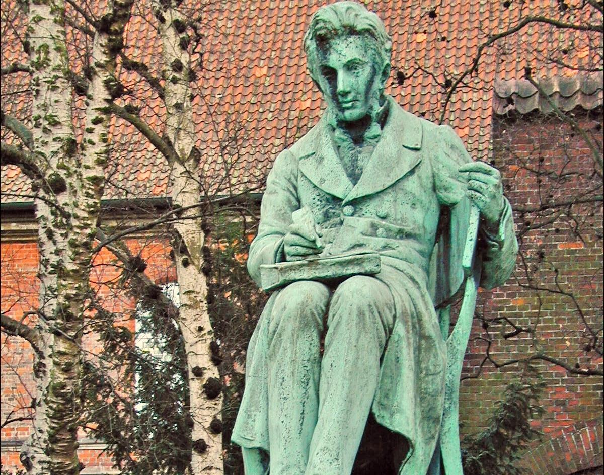Pomnik Sørena Kierkegaarda w Kopenhadze. Fot. Wikipedia