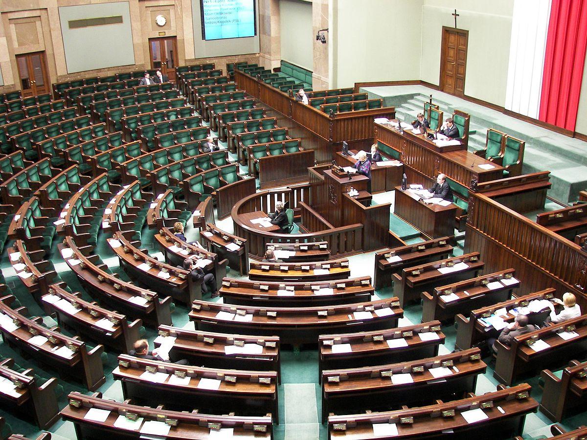 Polski Sejm. Fot. Wikipedia