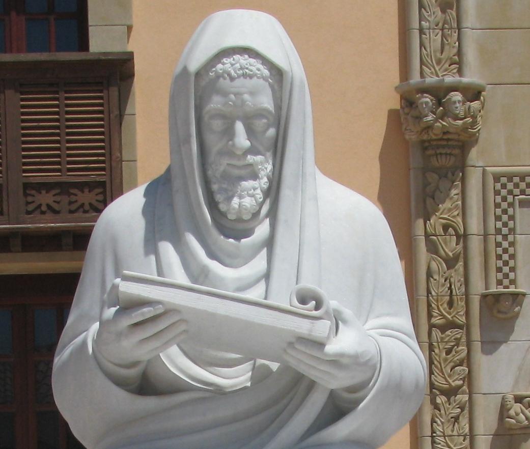 Rzeźba przedstawiająca Judę ha-Lewiego (ok. 1080-1145). Fot. Wikipedia.
