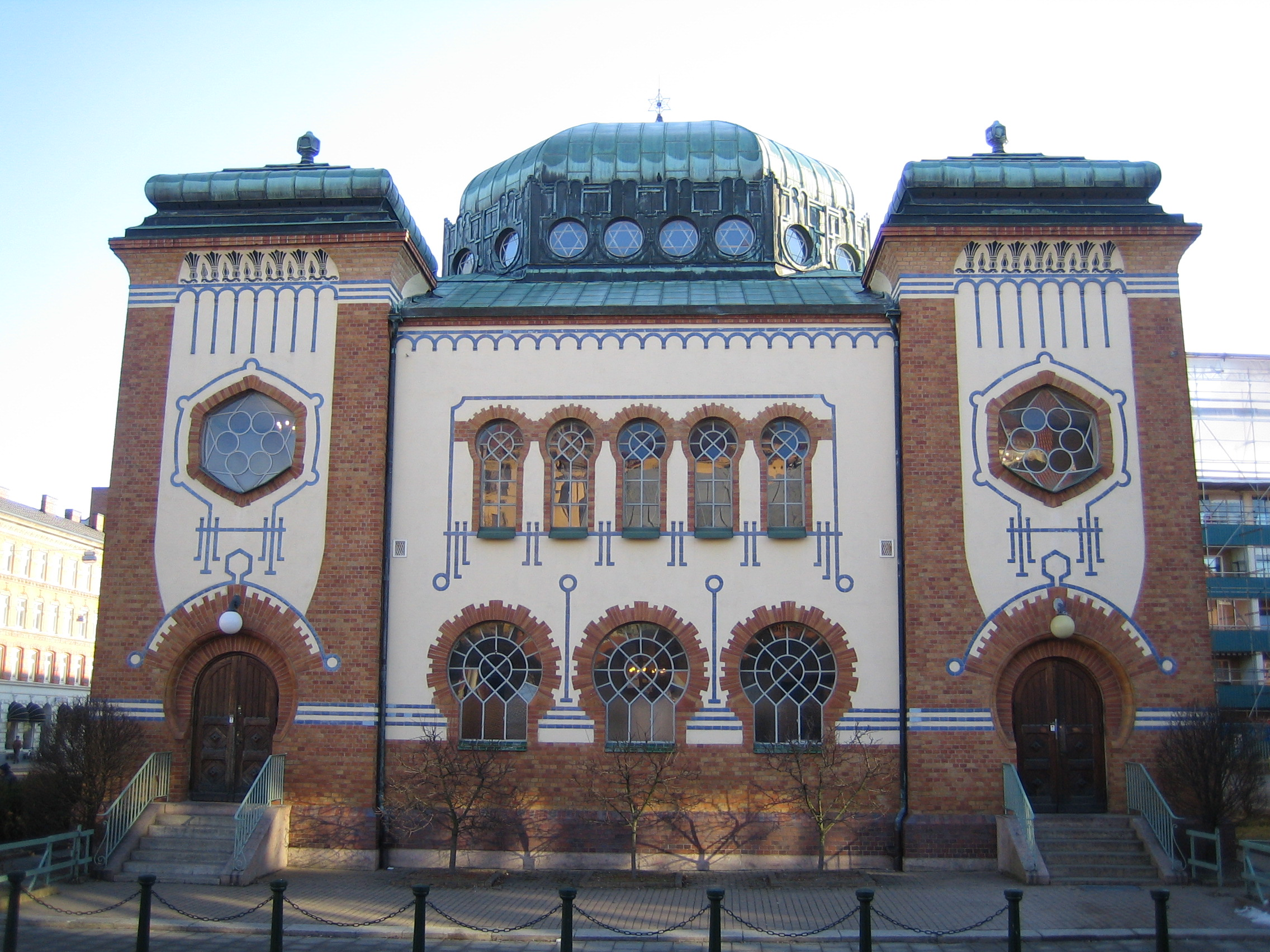Synagoga w Malmӧ. Fot. Wikipedia