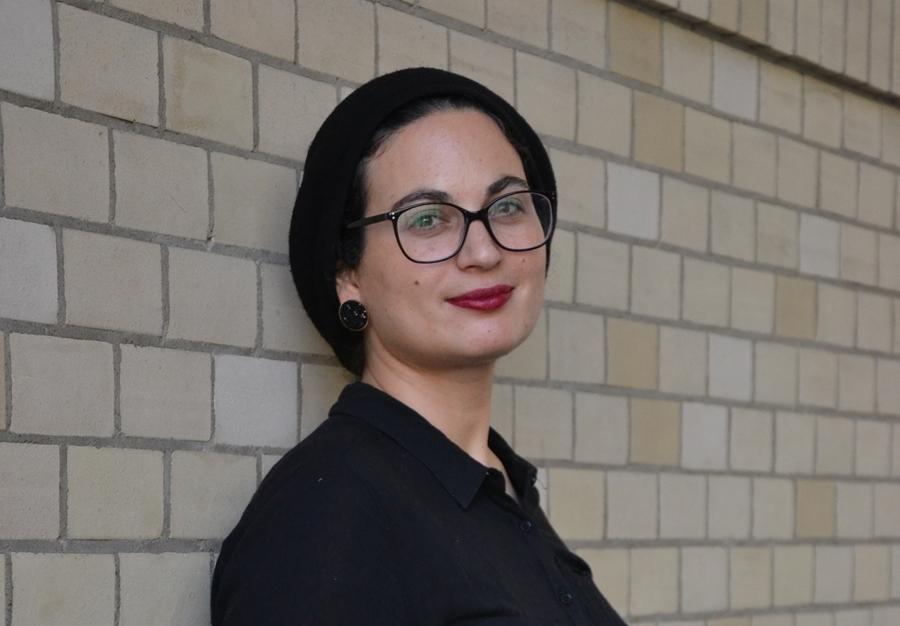 Marlyn Vinig, autorka pierwszej monografii poświęconej ultraortodoksyjnej kinematografii. Vinig odwiedziła Wrocław w sierpniu 2017 roku podczas festiwalu T-Mobile Nowe Horyzonty. / Fot. Chidusz