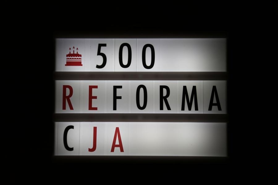 500 lat reformacji /fot. CHIDUSZ 2017