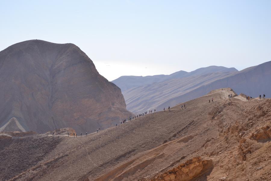 Szlak na południu Izraela. /Fot. Chidusz