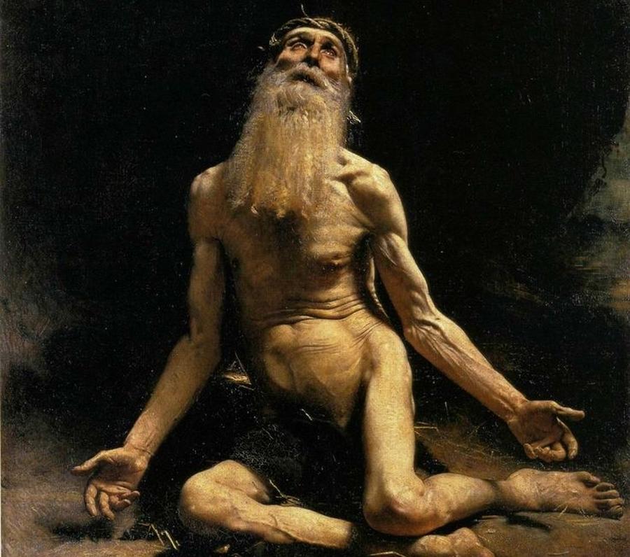 Hiob na obrazie Léona Bonnata (1880)./ Fot. Wikipedia