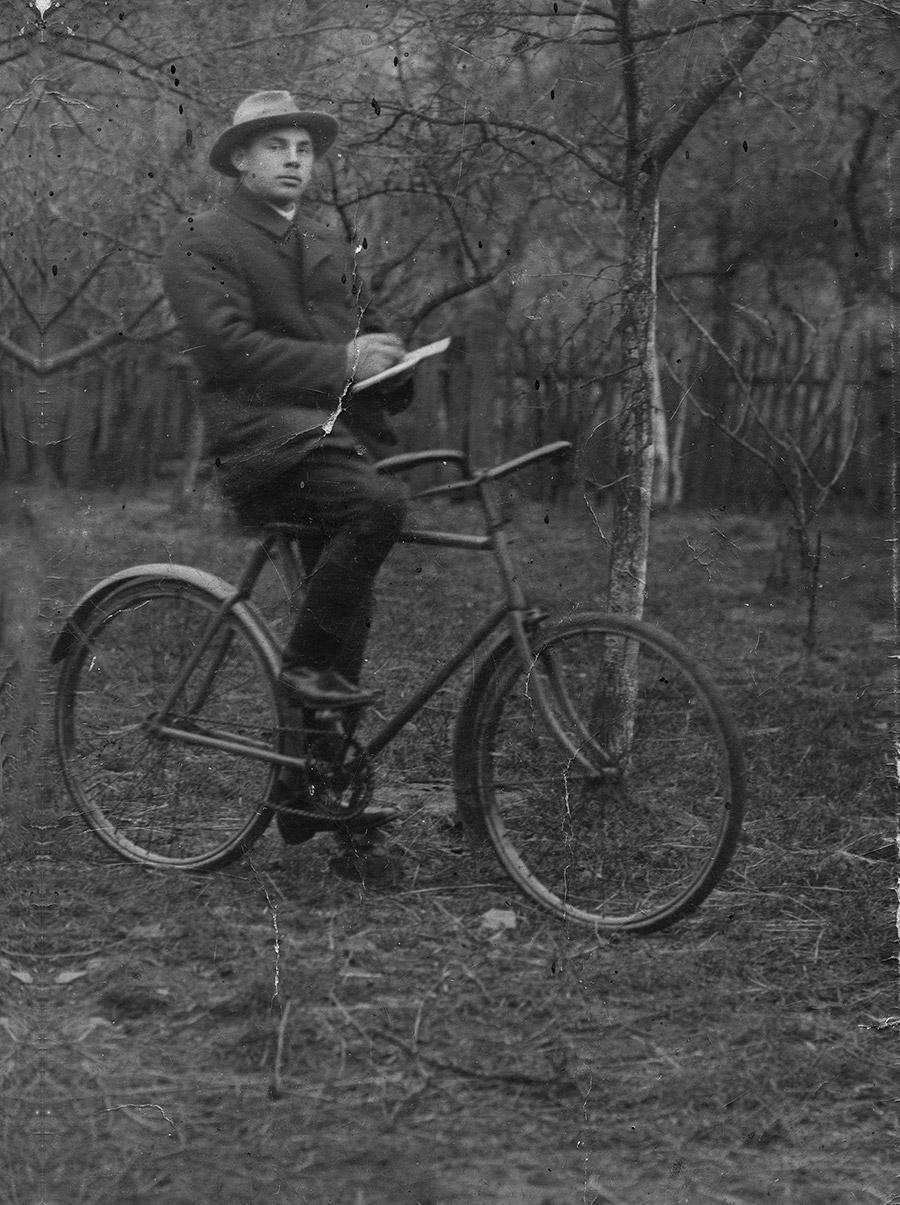 Bertold Berent. Data wykonania fotografii nieznana. /Fot. Archiwum rodzinne
