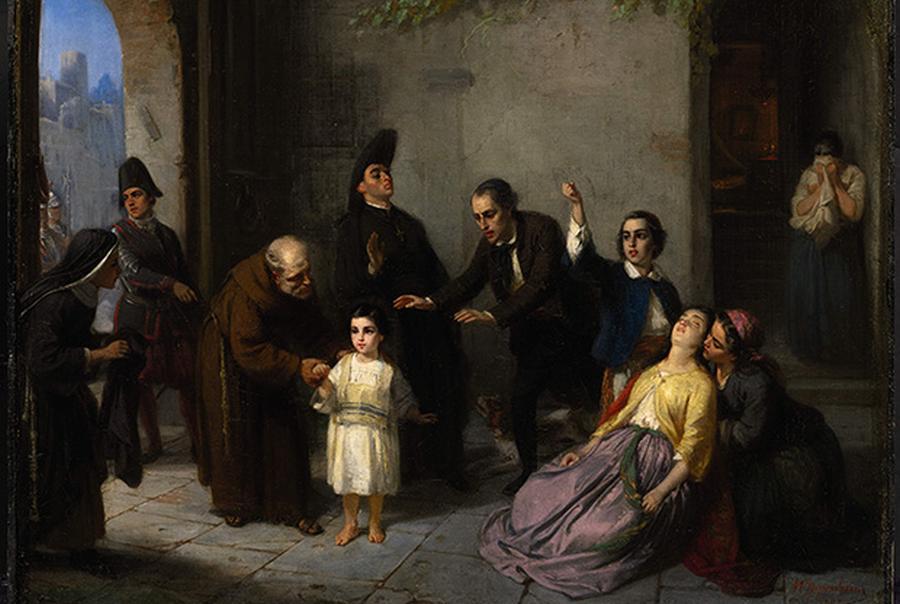 Moritz Daniel Oppenheim, Porwanie Edgarda Mortary, 1862