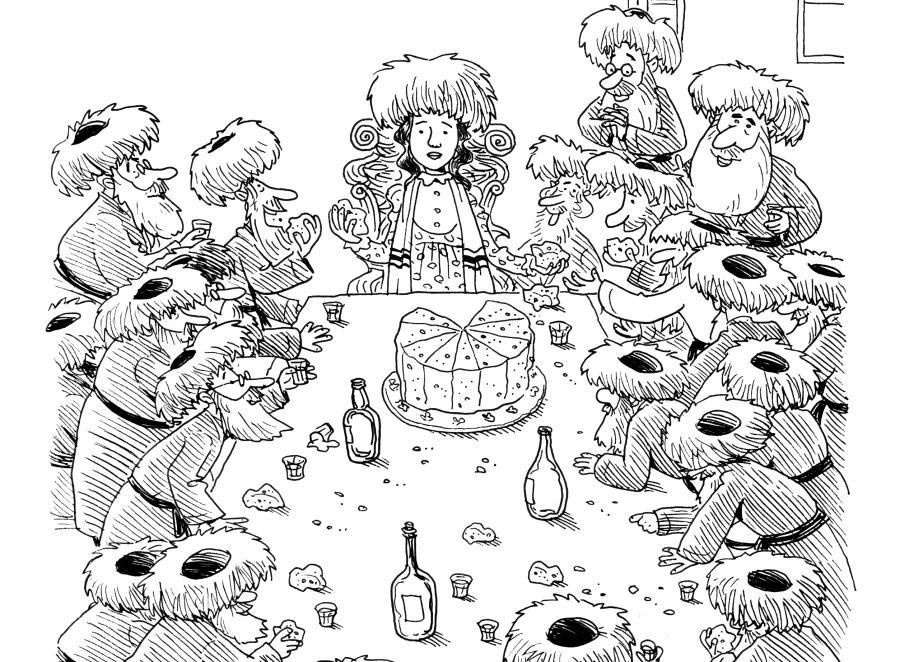 Kobiety i chasydyzm w satyrycznym ujęciu Noama Nadava (fragment ilustracji) /©Noam Nadav