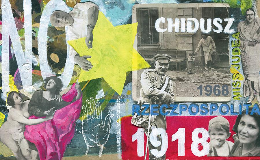 "Okładka ""Chiduszu"" 10/2018 Autorka: Edyta Marciniak"
