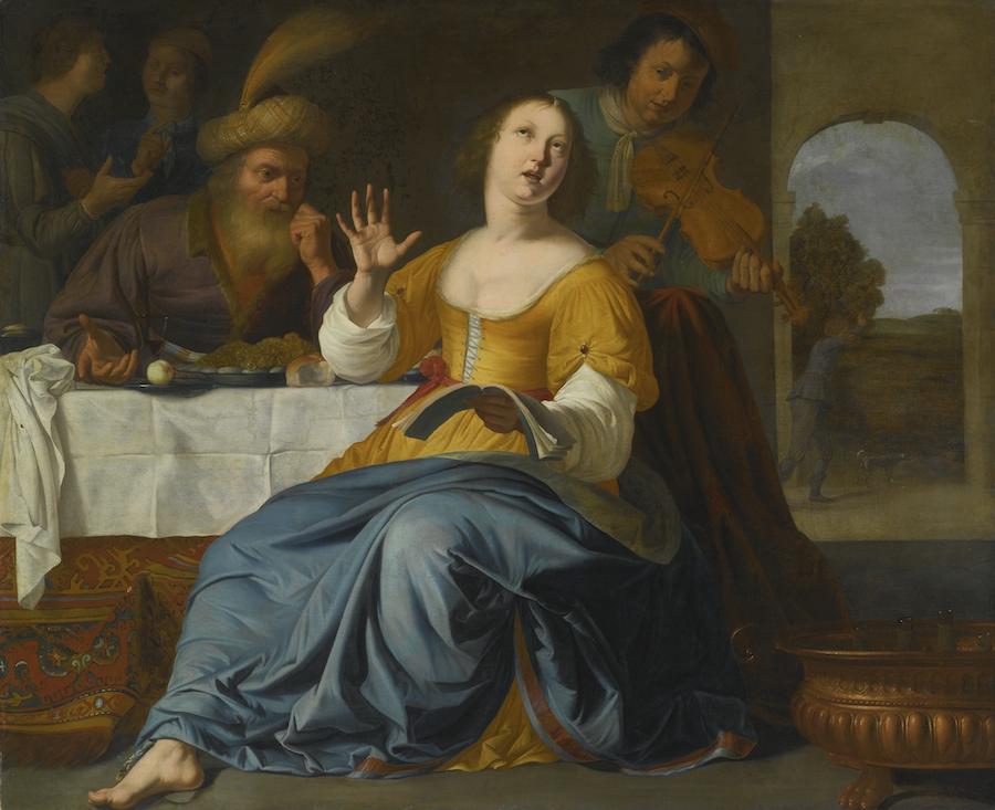 """""""Estera i Mordechaj"""", Aelbert van Der Schoor"""