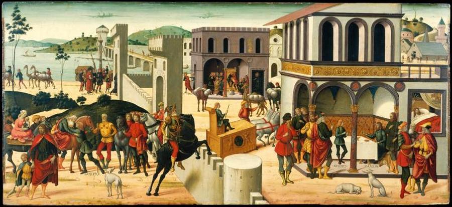 "Biagio d'Antonio, ""Historia Józefa"", przełom XV i XVI wieku /fot. The Metropolitan Museum of Art"