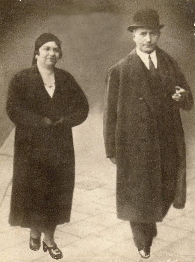 Klara i Henryk Spinnerowie przed wojną. Lwów /fot. Archiwum rodzinne