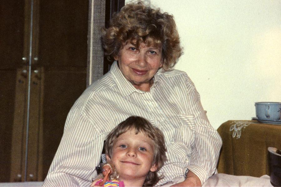 Moja babcia Joanna /fot. Archiwum rodzinne