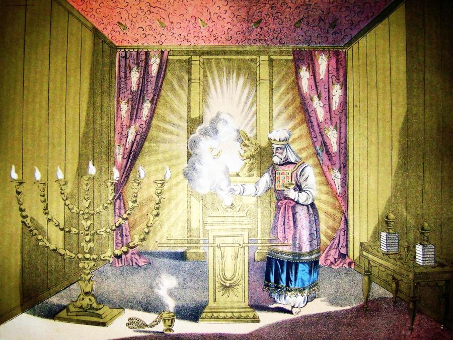 Arcykapłan, ilustracja z Biblii Holmana, 1890/ Wikipedia