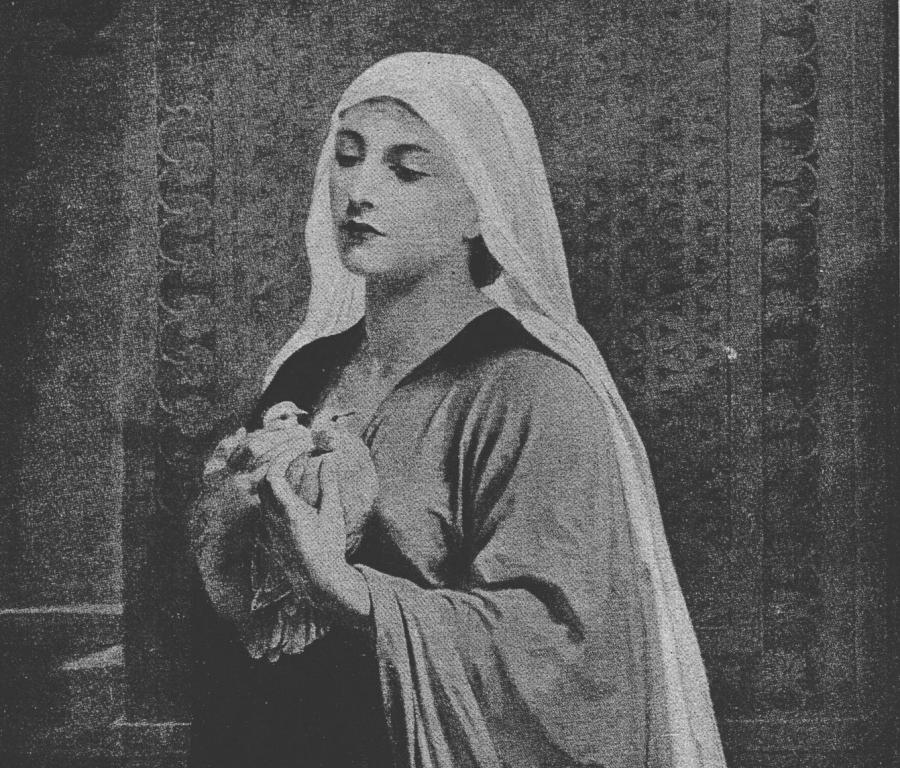 """""""Ofiara biednej wdowy"""", Frederick Goodall/ Wikipedia"""