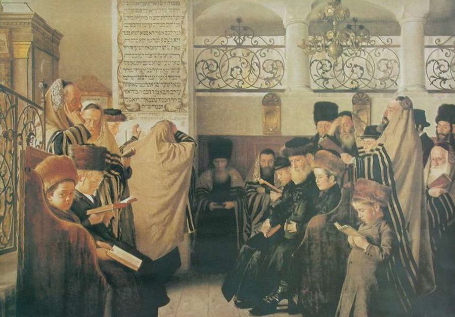 """Isidor Kaufman, """"Dzień odkupienia""""/ Wikipedia"""